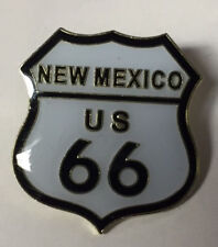 NEW MEXICO US ROUTE 66 LAPEL PIN HAT TAC NEW