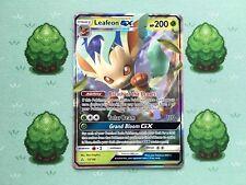Pokemon - Leafeon GX - 13/156 - SM Ultra Prism - Half Art