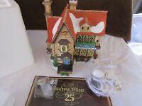 Dept 56 2008 Crowntree Inn Dickens Village Series 25 Years Of Heritage NIB