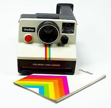 Mint Polaroid One Step OneStep Rainbow Instant SX-70 Film Camera Made in USA