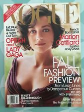 VOGUE US July 2010 Marion Cotillard Mode Fashion Look