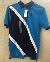 U.S. POLO ASSN. Men's Short Sleeve Polo Shirt LOGO XL