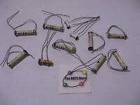 Ceramic Tubular Capacitor Assorted - Vintage NOS Qty 11