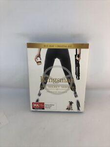 KINGSMAN The Secret Service Blu-ray Region B Premium Edition Very Good Condition
