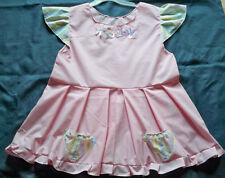 """ADULT 40"""" Pink Cotton Summer Dress,  By  KT"""