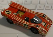 Solido porsche 917 reference 186 couleur orange