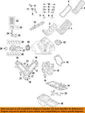 CHRYSLER OEM-Engine Valve Cover Left 53022139AB