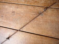 PITNEY TWISTED KEY 2-PT BARB on SINGLE LOOPED ROUND LINE - ANTIQUE BARBED WIRE