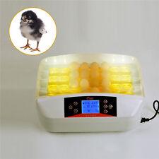 Automatic Digital 32 Eggs Turning Incubator Chicken Hatcher Temperature Control