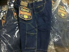 (Pack of 5) Bisley Work Shorts Cargo Denim Blue Roughrider Size 87 RRP $40