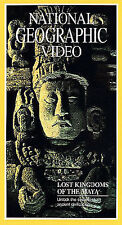 National Geographic Video - Lost Kingdoms of the Maya (VHS, 1993)