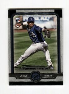 Fernando Tatis Jr 2019 Topps Museum Collection #87 Base Rookie RC Padres