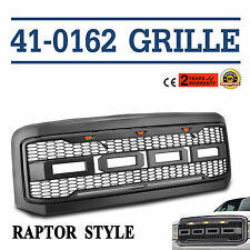 Ford Grille Conversion For Super Duty 05-07 F250 F350 Raptor ABS plastic Ship