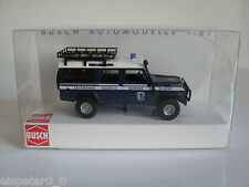 Land Rover Defender EMERGENZA Busch 1 87 Bus50386 Model