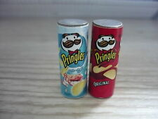 Set of 2  Pringles Packets Dollhouse Miniatures Food Snacks-1