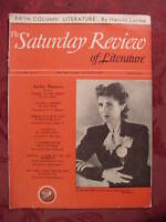 RARE Saturday Review September 14 1940 CLARE BOOTH H L MENCKEN