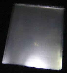100 ACID-FREE, CRYSTAL CLEAR, PLASTIC SHEET PROTECTORS