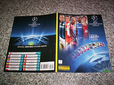 ALBUM UEFA CHAMPIONS LEAGUE 2010-2011 PANINI Q.COMPLETO(-1 FIG)  CALCIATORI