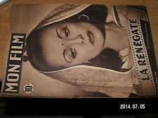 Revue MON FILM n°102 La Renegate Louise Carletti / Georges Marchal