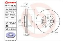 1x BREMBO Disco de freno delantero Ventilado 304mm 09.C133.11