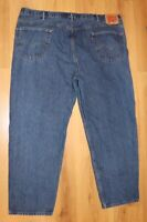 Mens Levis 550 Relaxed Fit Jeans Size 50x32