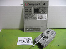 Axis & Allies Reserves Panther Ausf. D with card 28/45