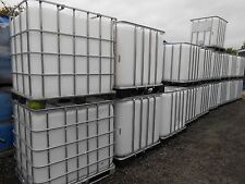 IBC 1000ltr  Container  water butt all ex food grade with tap cage and a pallet