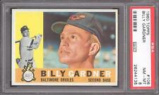 1960 Topps #106 Billy Gardner PSA NM-MT 8 Baltimore Orioles - VERY LOW POP 8