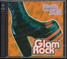 TIME LIFE SOUNDS OF THE 70S GLAM ROCK 2-CD SEALED! WIZZARD SPARKS DAVID ESSEX