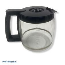 Cuisinart 14 Cup Replacement Carafe Coffee Pot With Lid Black