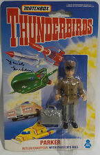 THUNDERBIRDS : PARKER CARDED ACTION FIGURE SIGNED BY DAVID GARHAM (F)