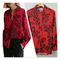 [ COUNTRY ROAD ] Womens Print Full Sleeves shirt Top $139 | Size AU 10 or US 6