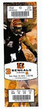 2012 CINCIANNATI BENGALS VS MIAMI DOLPHINS TICKET STUB 10/7/12 A.J. GREEN