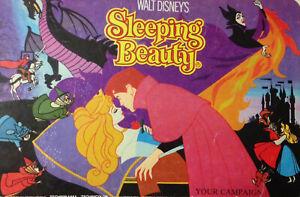DISNEY PRESS BOOK CAMPAIGN 1980 SLEEPING BEAUTY UK