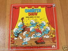 LP DE SMURFEN SHOW,SMURFEN HOORSPEL MET LIEDJES 1983 PEYO,LES SCHROU,SCHLUMPHE,