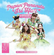 JKT48 Papan Penanda Isi Hati (Message on a Placard) (CD+DVD) (Regular Version)