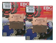 2x Sets EBC FA679HH Sintered Front Brake Pads Honda CRF1100 Africa Twin 2018-20