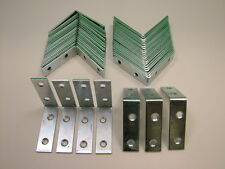 Right angle L bracket corner brace 50x16mm fixing support bracket, pack of 50