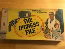 The Ipcress File game by Milton Bradley and 2009 dvd included