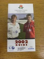 2002 Cricket: Lancashire County Cricket Club - Members Guide. If this item has a
