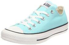 CONVERSE Chuck Taylor All Star Aruba Blue Canvas Ox Sneakers Womens 12 / Mens 10