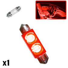 1x Ford Fiesta MK6 1.25 264 42mm Red Interior Courtesy Bulb LED Superlux Light