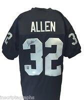 Marcus Allen Signed Oakland Raiders Jersey Autograph COA JSA Los Angeles