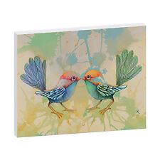 Canvas Birds Framed Decorative Posters & Prints