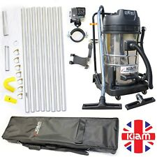BUSINESS START UP OPPORTUNITY Gutter Cleaning Vac 32ft Pole Kit Holdall Camera