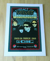 VELVET UNDERGROUND : MARCH 1969 : A4 GLOSSY REPRODUCTION POSTER