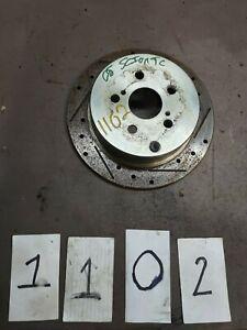 2005-2010 Scion Tc 2.4L Manual Passenger Rear Right Brake Rotor (C1-2-1-3-1102)