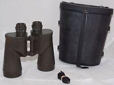 Bausch & Lomb  7x50 M-17, A1 Green Paint U.S. Army binoculars, Hood case.