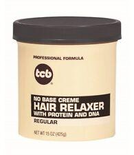 TCB Professional Formulas No Base Creme Hair Relaxer - 15 oz (425 g) - Regular