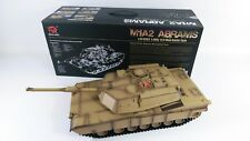 NEW Heng Long Radio Remote Control RC Abrams M1A2 Desert Camo Tank 1/16th 2.4GHz